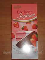 """Шоколад """" Karina"""" Erdbeer Joghurt - Йогурт с клубникой , 200г (Германия)"""