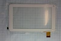 Оригинальный тачскрин / сенсор (сенсорное стекло) для YuYa-86V-B (белый цвет, самоклейка)