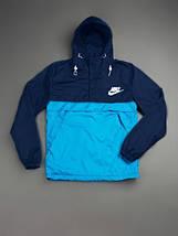 Мужской спортивный анорак Nike , сине-голубой, фото 3
