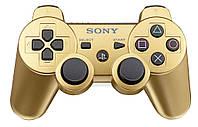 Game Pad для SONY PlayStation 3 DualShock 3, беспроводной Bluetooth, Vibro, Gold