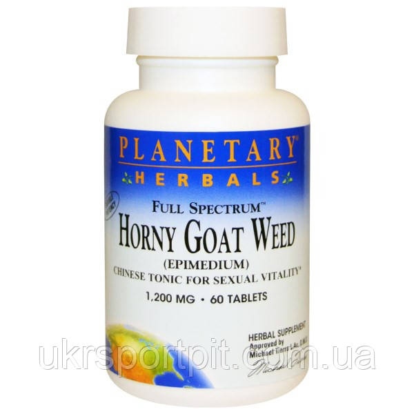 Horny Goat Planetary Herbals,1200 мг, 60 таблеток