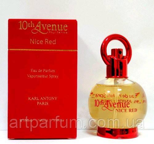 Туалетная вода для женщин 10th Avenue Nice Red 100ml