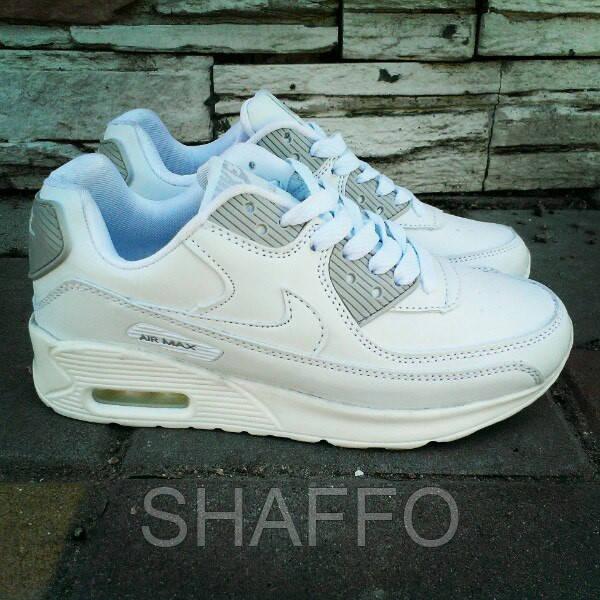 Женские стильные кроссовки Nike Air Max белые  продажа, цена в Киеве ... 209a61c91da