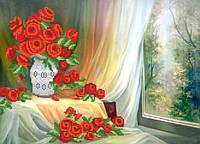 Алые розы РКП-507