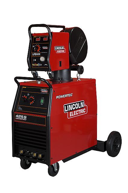 Сварочный источник Powertec 425S/Подающий механизм LF-24 М LINCOLN ELECTRIC