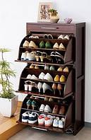 Шкаф для обуви деревянный ручной работы