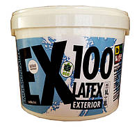 Краска фасадная латексная матовая EX100
