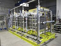 Установка системы получения гипохлорита натрия