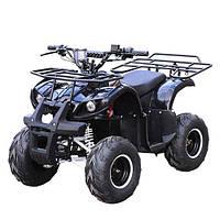 Мощный железный квадроцикл Profi EATV1000D-2 48V, багажник, фары,черный