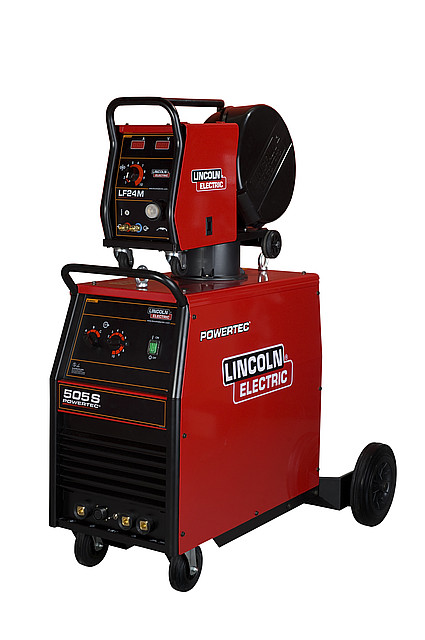 Сварочный источник Powertec 505S Подающий механизм LF-24M LINCOLN ELECTRIC