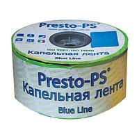 Щелевая капельная лента Blue Line 0,18 ( 10см ) 1000 м Presto