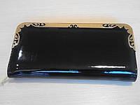 Кошелек клатч на молнии, черный, фото 1
