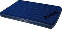 Матрас двухспальный Intex 68755 (183*203см) +насос