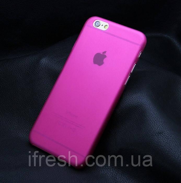 Ультратонкий чехол для iPhone 6/6s, розовый