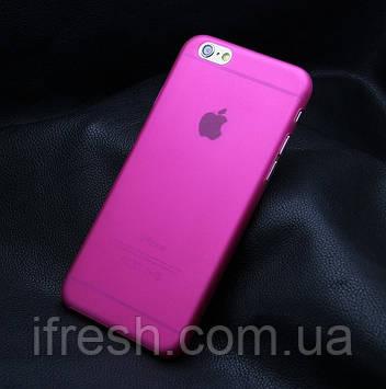 Ультратонкий чохол для iPhone 6/6s, рожевий