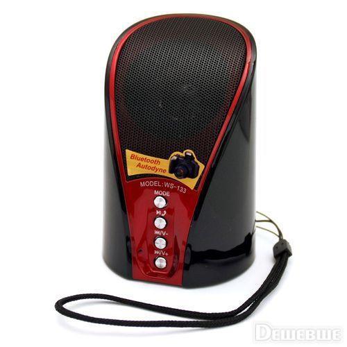 Bluetooth портативная колонка WS-133