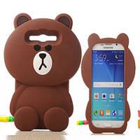 "Samsung A7 A700 противоударный чехол накладка бампер защита 360*  3D SOFT TPU для телефона ""TEDDY BEAR"""