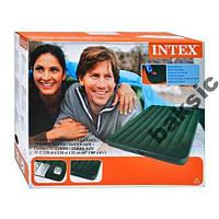 Надувной матрас Intex 66929 со встроенным насосом
