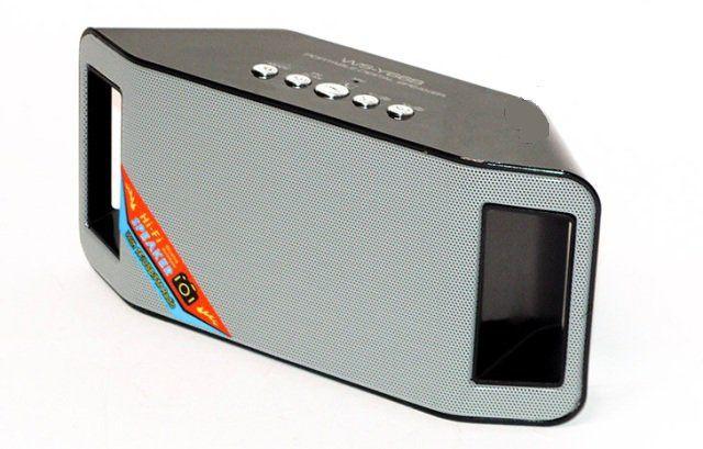 WS-66 Портативная колонка с радио и Блютуз
