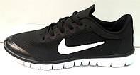 Кроссовки мужские Nike Free Run черные NI0100