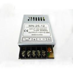 Блок питания MN-25-12 12V 25W