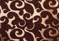 Мебельная ткань Acril 50% Флори браун