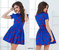 Молодежное модное платье 1049 нин