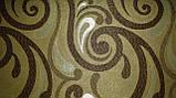 Обивочная ткань для мебели Ажур браун Ajur brown, фото 2