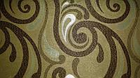 Мебельная ткань Ажур браун