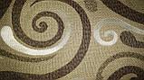 Обивочная ткань для мебели Ажур браун Ajur brown, фото 3