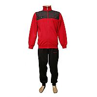 Трикотажный мужской спортивный костюм со склада в Одессе FM14669 Red
