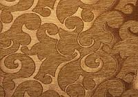 Мебельная шенилловая ткань Acril 50% Флори какао