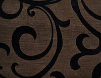 Мебельная ткань Уго браун