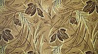 Обивочная ткань для мебели Шпигель лист корич.