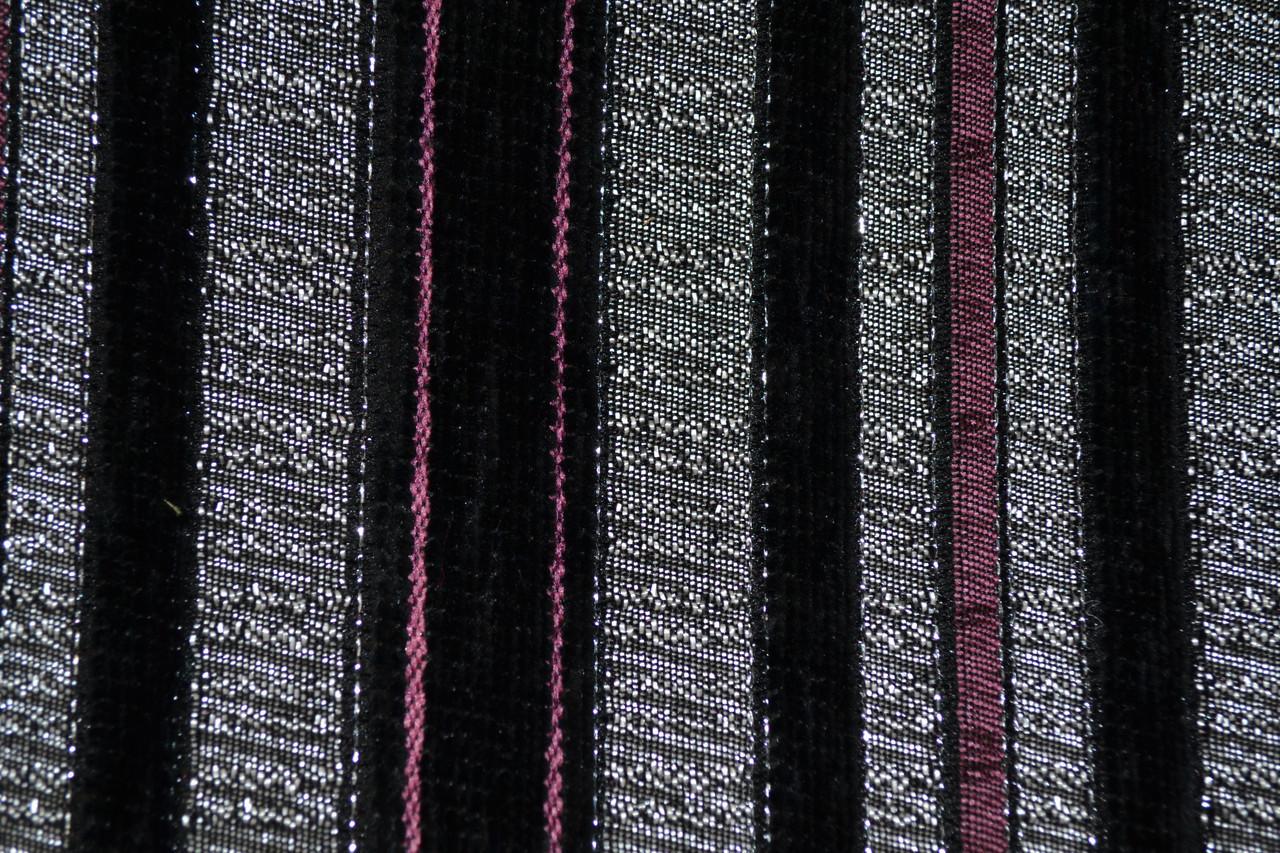 Мебельная ткань Acril 50% Сникер блек 1