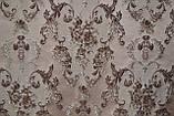 Красивая обивочная жаккардовая ткань на класическую мебель S 5997/9000, фото 3