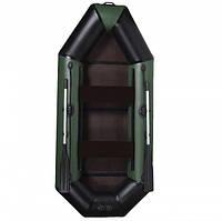 Надувная лодка пвх AquaStar B-275 FFD зеленая
