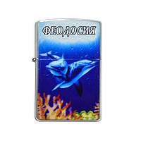 """Залізна запальничка - """"Дельфіни"""" Феодосія"""