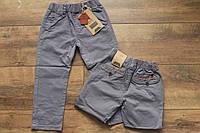 Катоновые брюки для мальчиков 1- 4 года