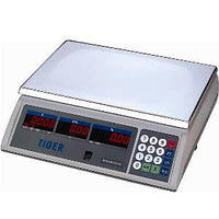 Электронные торговые весы Tiger 15 до 15 кг б/у в идеальном состоянии