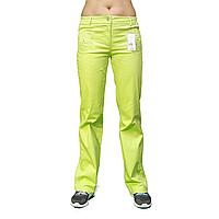 Салатовые женские брюки стрейчкоттон ATP11008-2