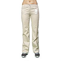 Бежевые женские стрейчевые брюки ATP11008-1