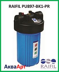 Фільтр для холодної води RAIFIL PU897-BK1-PR латунний порт