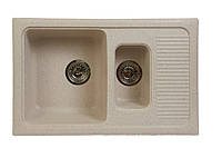 Мойка из искусственного камня Fosto 77х49 sga BIO