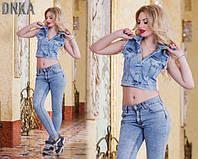 Жилетка джинсовая  ат3215