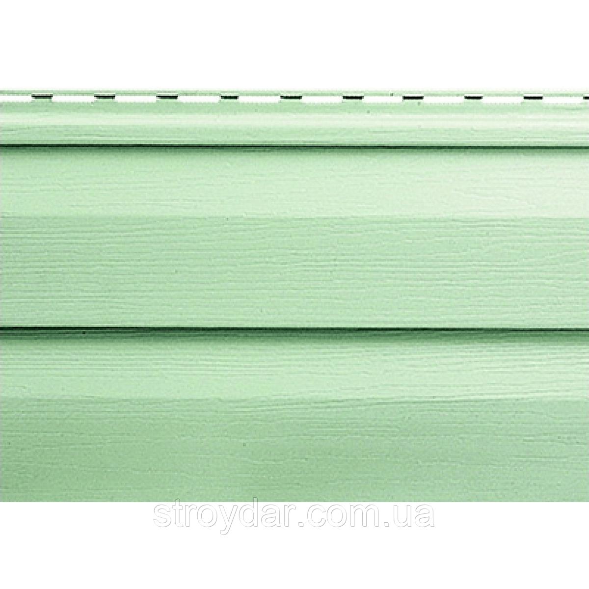 Виниловый сайдинг Альта-Профиль Серо-зеленый коллекция Ангара
