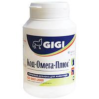 GIGI Препарат для профилактики кожных заболеваний и укрепления костной ткани Calci-Cod-Omega 90кап. (кальций, фосфор, витамины)
