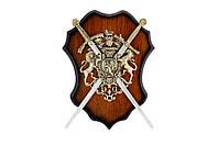 Панно рыцарское, оригинальный подарок для любителя старины