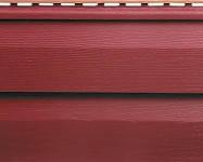 Виниловый сайдинг Красный, коллекция Премиум от Альта-Профиль
