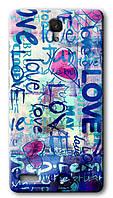 Чехол для Xiaomi Redmi Note (Love)